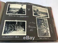 Seconde Guerre Mondiale Ww2 Allemande Photo Album, Armée, Armée, Original, B & W, Soldat, Wehrmacht, Heer