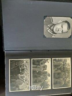 Seconde Guerre Mondiale Ww2 Allemande Photo Album Army Infantry Regiment 90 D'origine