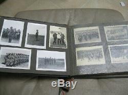 Seconde Guerre Mondiale Ww2 Allemande Photo Album, Original, Wehrmacht, Armée, Soldat, Armée, Guerre Mondiale