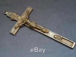 Seconde Guerre Mondiale Ww2 Armée Allemande Officier De La Wehrmacht Croix Pectorale Pendentif Crucifix (no. S7)