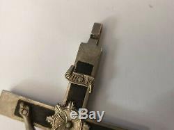 Seconde Guerre Mondiale Ww2 Armée Officier De La Wehrmacht Allemande Croix Pectorale Pendentif Crucifix N ° S03