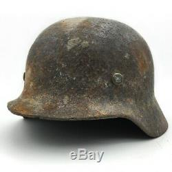 Stahlhelm Guerre Mondiale Armée Allemande Ww2 Métal Casque Ww1 De Collection Chapeau En Acier