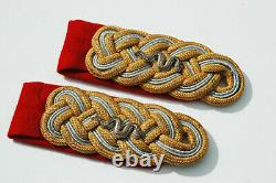 Tableau D'épaules Du Général Vétérinaire De L'armée Allemande De La Seconde Guerre Mondiale