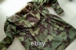 Taille XXL Ww2 Allemagne Armée M43 Camo Italien Rabit Fur Winter Parka Grand Chambre