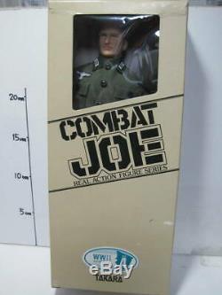 Takara Combat Joe No. 4 Wwii Officier De L'armée Allemande Withbox Réel Action Figure A