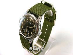 Tilleul Dh, Militaire Rare Pour Les Montres-bracelets Armée Allemande, Wehrmacht De La Seconde Guerre Mondiale