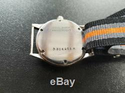 Tritona Wasserdicht Swiss Dh Armée Allemande Seconde Guerre Mondiale Guerre De Travail Montre-bracelet Militaire