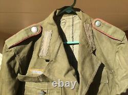 Tunique Afrika Korps De L'armée Allemande De La Seconde Guerre Mondiale