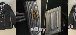 Tunique En Robe De Waffenrock Originale De L'armée De Réserve De L'armée De Réserve De La Seconde Guerre Mondiale, Originale En Allemagne