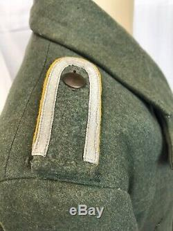 Tunique Originale Allemande Ww2 Gebirgsjäger Laine Wwii Armée Heer Moutain