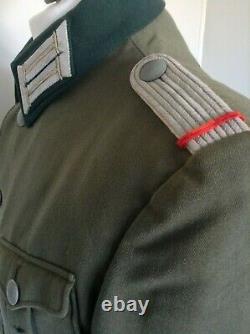 Tunique Originale De Service De Service De Lieutenants D'infanterie Uniformes De L'armée Allemande De Ww2