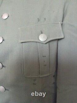 Tunique Originale De Service Uniforme De L'armée Allemande Ww2