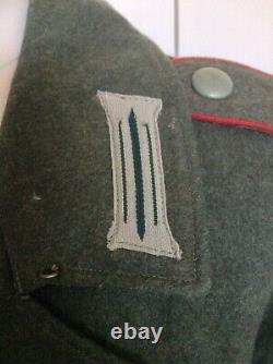 Tunique Uniforme Originale De L'armée Allemande Ww2