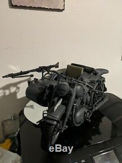 Uultimate Soldier 12 Pouces Wwii Armée Allemande Motorcycle & Sidecar 1/6