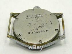 Vintage Tritona Dh Ww2 Allemand Army Watch Militaire Guerre Mondiale Wehrmacht Dienst Uhr