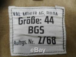 Vintage W Numéro Armée Allemande Bgs Tan & Eau Ww2 Sumpftarn Tarn Coat Jacket Camo