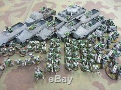 Warhammer 40.000 40k Seconde Guerre Mondiale Allemande Thème De L'espace Ork Armée Painted