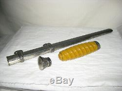 Wehrmacht Ww2 Originale Armée Dagger Poignée Hilt Arçons Fourreau Pièces