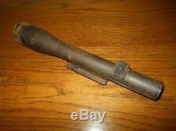 Ww II Armée Armée De L'air Allemande 3x8 ° 37mm Pak36 Portée # 2 Visant Tres Belle
