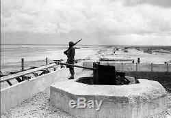 Ww II Armée / Marine Allemande Z. F. 3x8 ° 5cm Kwk Champ D'application Kwk 38/39 Rare
