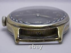 Ww2 1944 Montre-bracelet Militaire Armée Allemande Zenith Dh