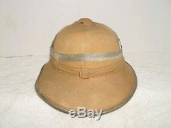Ww2 Allemand Dak Afrika Casque Colonial De L'armée, 1941, Taille 55, Orig