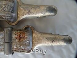 Ww2 Allemand Deluxe Armée Dagger. Hangers Marqué Drgm / Estampillé