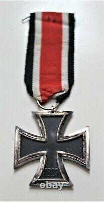 Ww2 Allemand Ek2 Et Certificat Volks Art 388 Battle Bulge & Remagen Bridge