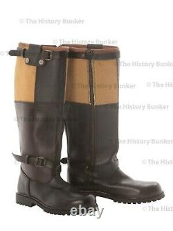 Ww2 Allemand Luftwaffe Bottes Volantes- Repro Taille 12 (uk) 13 (usa)