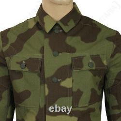 Ww2 Allemand M43 Tunic Italien Camo Repro Veste Chemise Army Heer Toutes Les Tailles Nouveau