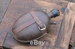 Ww2 Allemand Wehrmacht Army Eau Cantine Flask Coco L'afrique Corps