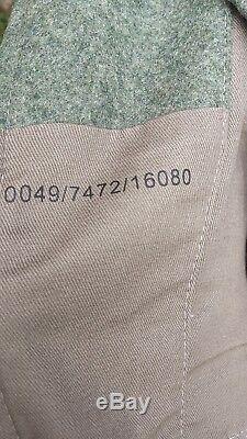 Ww2 Armée Allemande M40 Champ Gris Tunique Taille 44inch Poitrine Nouveau Reproduction Heer Wh