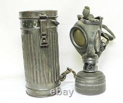 Ww2 Armée Allemande Militaire-masque À Gaz Soldat 1939
