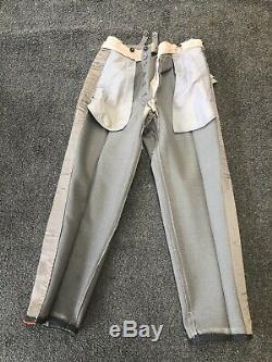 Ww2 Armée Pantalons Généraux Uniforme Allemand Taille 32 Taille Garanti À Vie