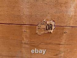 Ww2 German Army 15cm K. 10 Pièces De Canon Boîte En Bois Tous Les Originaux Huge Box