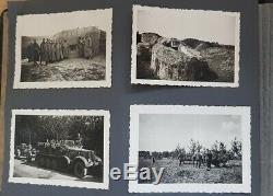 Ww2 Originale Armée Allemande Artillerie Album Photo 68 Photos Top Qualité Pologne