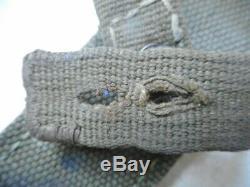 Ww2 Originale Armée Allemande Dak Afrikakorps Pois Early Vert Tropical Webbing Frog