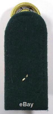 Ww2 Originale Armée Allemande Officielle Lieut Générale Shoulder Conseil Rouge Canalisé