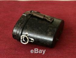 Ww2 Originale Battl. Relic Armée Allemande Bakelite 6 X 30 Jumelles Case / Box 1943