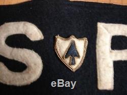 Ww2 Originale De L'armée Américaine D'infanterie 26 Reg. Special Police Guerre Allemande Crimes Armband