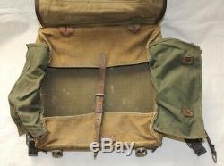 Ww2 Rkka Armée Rouge Des Premiers Modèles M36 Tornister Sac À Dos Style Allemand Très Rare