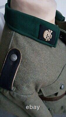 Ww2 Uniforme Allemand M36 Tunique De Combat Grande Taille