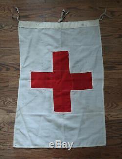 Ww2 Wehrmacht Soldat Bannière Drapeau Heer Ww1 Officier Croix-rouge Pennant
