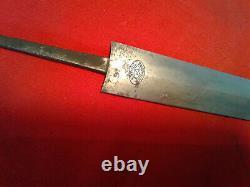 Wwii Allemand Original Sa Army Dagger Blade