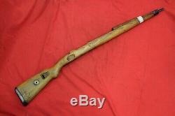 Wwii Originale Armée Allemande Fusil En Bois Stock K98 Mauser. Marquage Allemand. 4