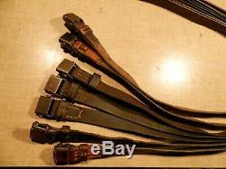 Wwii Originale Ww2 38/40 Rifle Sling Cuir 98k Gewehr K43 G43 Ww2 Armée Allemande