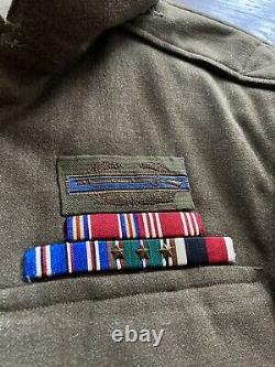 Wwii Ww2 7th Armored Division Us Army Ike Uniforme Allemand Fait Cib Unrra