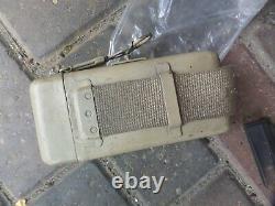 Wwii Ww2 Allemand Zf40 Zf41 / 1 Sniper Scope / Mount & Shades & Case Pour Allemand 98k