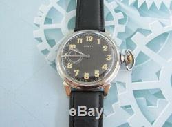 Zenith 1930 1940 Années Seconde Guerre Mondiale Vintage Suisse Pour L'armée Allemande Militaire Wristwatch