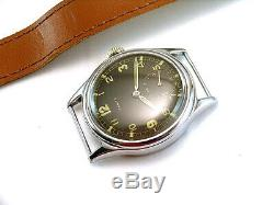 Zenith Dh # 2, Militaire Tres Rare Pour Les Montres-bracelets Armée Allemande, Wehrmacht De La Seconde Guerre Mondiale